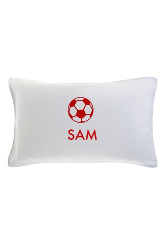Personalised Football Pillowcase By Gift Collective
