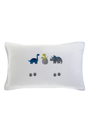 Personalised Dinosaur Pillowcase By Gift Collective