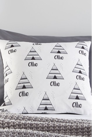 Personalised Teepee Cushion By Gift Collective