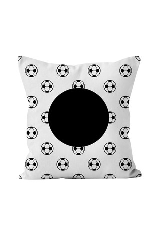 Personalised Football Cushion By Gift Collective