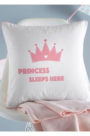 Personalised Princess Cushion By Gift Collective