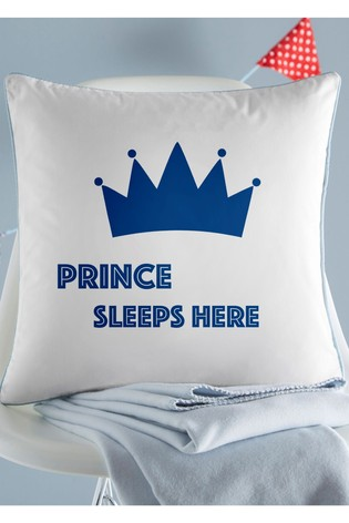 Personalised Prince Cushion By Gift Collective