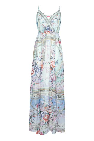 Abbey Clancy X Lipsy Floral Strappy Maxi Dress