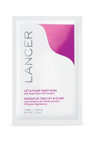 Lancer Firm & Plump Sheet Mask 4 Pack