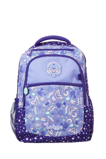 Smiggle Purple Express Backpack