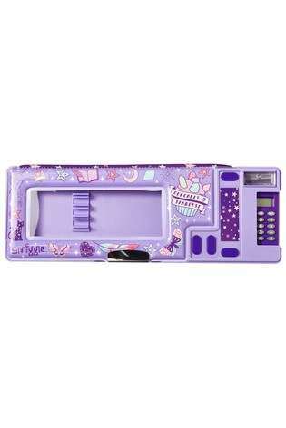 Smiggle Purple Express Pop Out Pencil Case