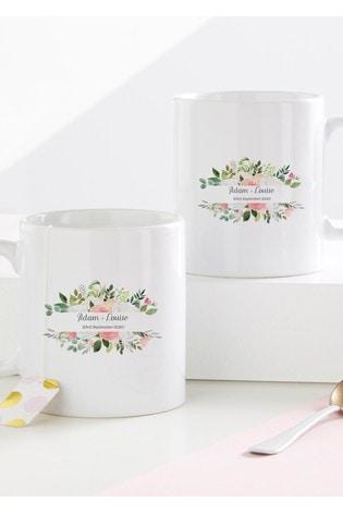 Personalised Wedding Mug Set By Gift Collective