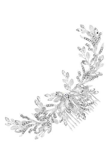 Jon Richard Bridal Crystal Beaded Wreath Comb