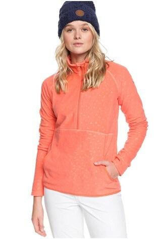 Roxy Cascade Zip Up Thermal Fleece Top