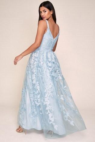 Lipsy Blue Prom Dress