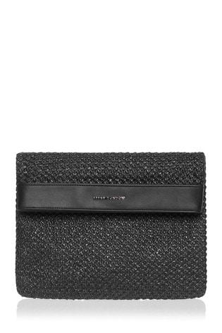 Lipsy Raffia Woven Clutch Bag