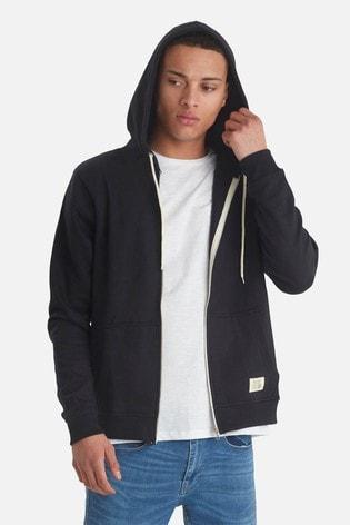 Blend Black Basic Zip Hood Sweat