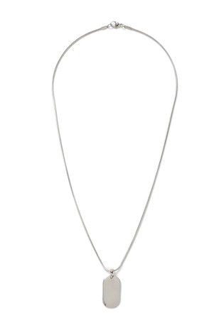 Topman Dogtag Necklace