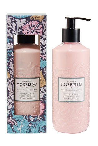 Morris & Co Pink Clay and Honeysuckle Body Lotion 320ml