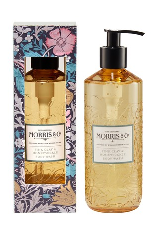 Morris & Co Pink Clay and Honeysuckle Body Wash 320ml