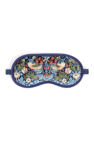 Morris & Co Strawberry Thief Velvet Lavender Eye Mask