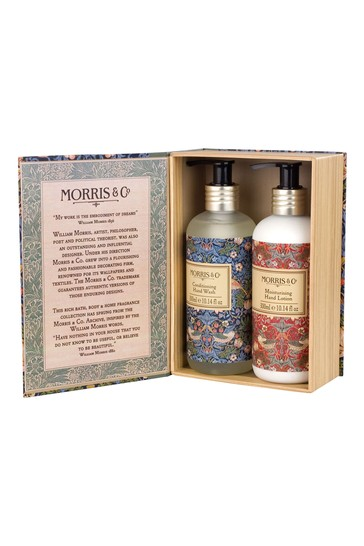 Morris & Co Strawberry Thief Hand Wash and Hand Lotion Duo