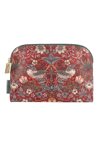 Morris & Co. Strawberry Thief Cosmetic Makeup Bag - Small
