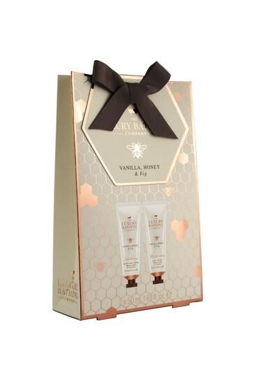 The Luxury Bathing Company Hand Heaven - 50ml Hand & Nail Cream and 50ml Body Cream