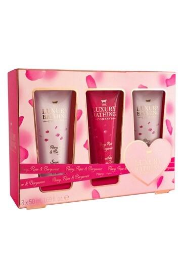 The Luxury Bathing Company Heaven Scent - 3 x 50ml Hand & Nail Cream