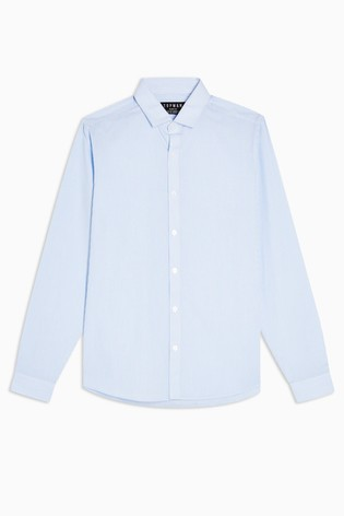 Topman Stripe Slim Shirt