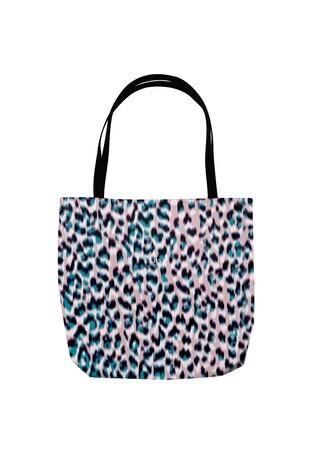 Personalised Lipsy Grey/Pink Tote Bag by Instajunction