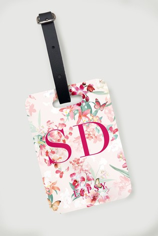 Personalised Lipsy Delilah Luggage Tag by Koko Blossom
