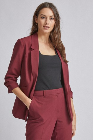 Dorothy Perkins Ruched Sleeve Jacket