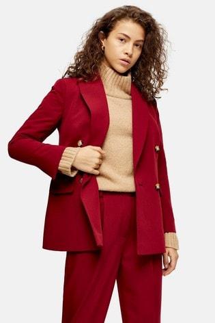 Topshop Petite Suit Blazer