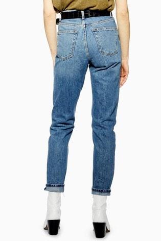 "Topshop Mom Jeans 30"" Leg"