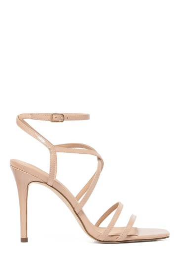 Forever New Pink Evie Strappy Stiletto