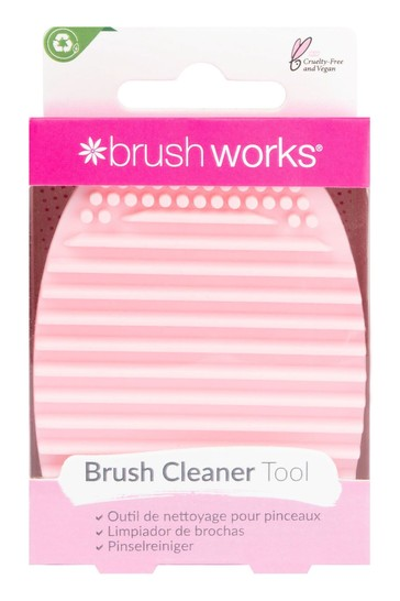 Brushworks Silicone Makeup Brush Cleaning Tool