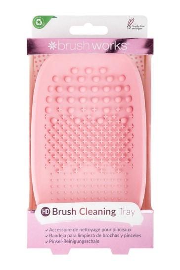 Brushworks Makeup Brush Cleaner Tray