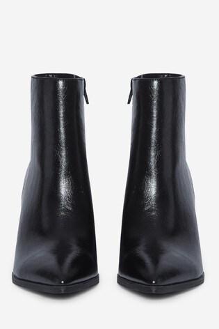 Dorothy Perkins Black Analisa Point Heeled Boot