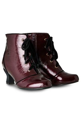 Joe Browns Joyful Patent Ankle Boots