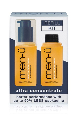 men-ü Refill Kit Healthy Facial Wash
