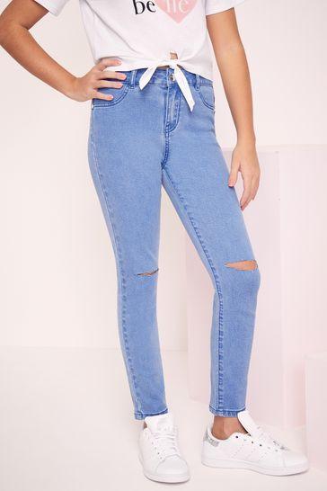 Lipsy Bright Blue Skinny Jean