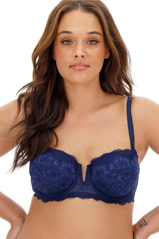 Simply Be Katie Lace Underwired Padded Multiway Bra - Pack of 2 DD+