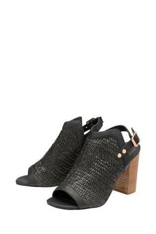 Ravel Woven Front Sandal