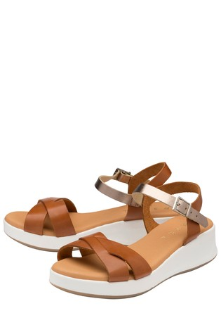 Ravel Padded Leather Strap Sandal