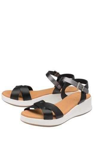 Ravel Padded Leather Strap Sandal