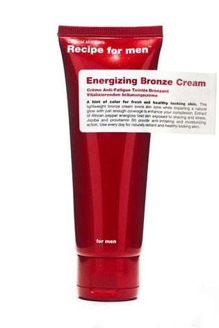 Recipe for Men Energizing Bronze Cream 75 ml