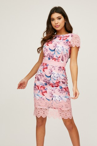 Paper Dolls Lace Hem Dress