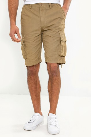 Threadbare Washed Cargo Shorts