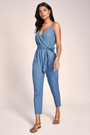 Lipsy Chambray Jumpsuit