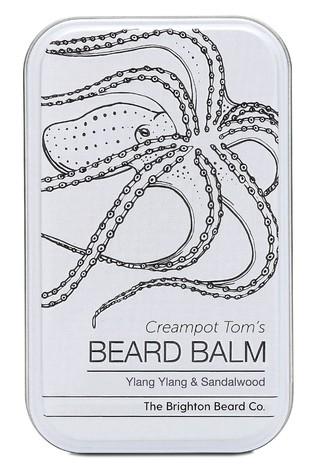 The Brighton Beard Co. Creampot Tom's Ylang Ylang & Sandalwood Beard Balm 80ml