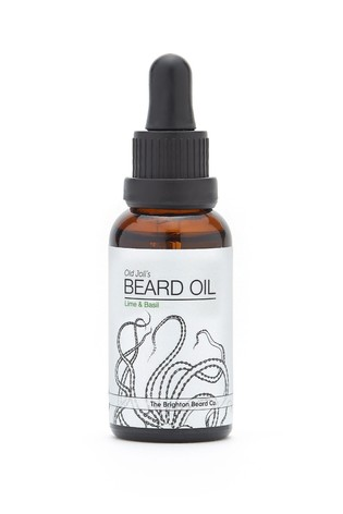 The Brighton Beard Co. Lime & Basil Nourishing Handmade Beard Oil 30ml