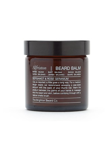 The Brighton Beard Co. Alfriston, Bergamot & Rose Geranium Beard Balm 60ml