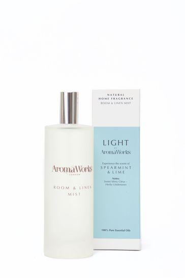 AromaWorks Light Range Spearmint & Lime Room Mist