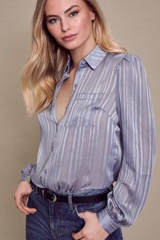 Lipsy Blue Shirt